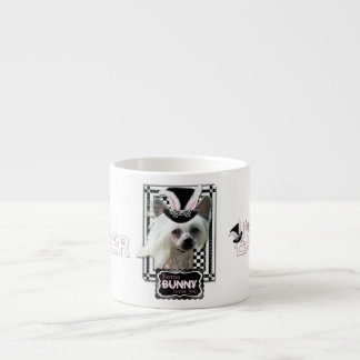 Easter - Some Bunny Loves You - Chinese Crested Espresso Cup