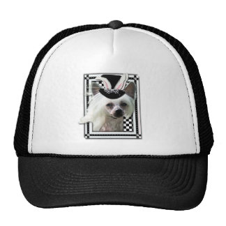 Easter - Some Bunny Loves You - Chinese Crested Trucker Hat