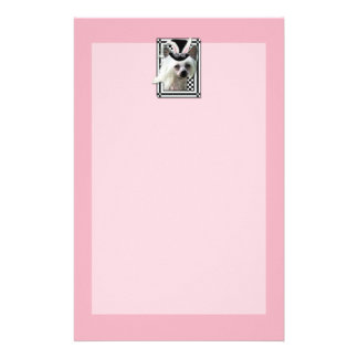 Easter - Some Bunny Loves You - Chinese Crested Stationery Design