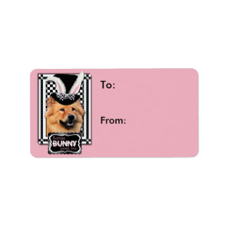Easter - Some Bunny Loves You - Chow Chow Label