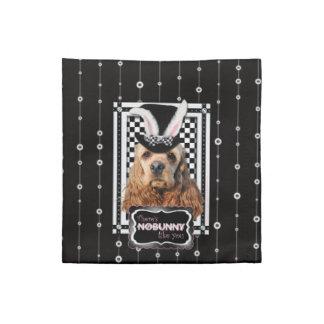 Easter - Some Bunny Loves You - Cocker Spaniel Cloth Napkin