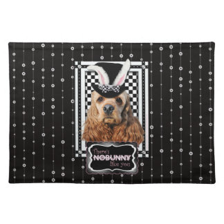 Easter - Some Bunny Loves You - Cocker Spaniel Cloth Placemat