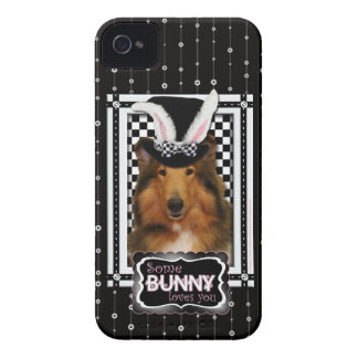 Easter - Some Bunny Loves You - Collie Natalie iPhone 4 Cover