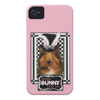 Easter - Some Bunny Loves You - Collie Natalie iPhone 4 Case-Mate Case