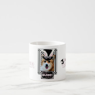 Easter - Some Bunny Loves You - Corgi Owen Espresso Cup