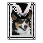 Easter - Some Bunny Loves You - Corgi Acrylic Cut Outs