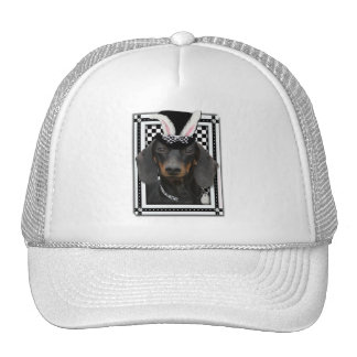 Easter - Some Bunny Loves You - Dachshund Trucker Hat