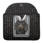 Easter - Some Bunny Loves You - Dachshund Sleeve For MacBooks