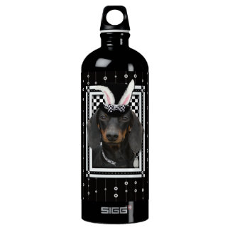 Easter - Some Bunny Loves You - Dachshund Water Bottle