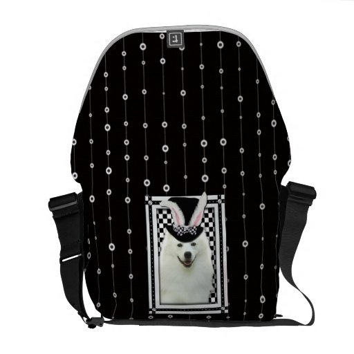 Easter - Some Bunny Loves You - Eskie Messenger Bags