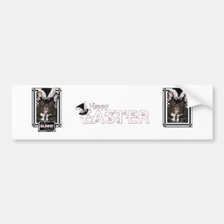 Easter - Some Bunny Loves You - French Bulldog Car Bumper Sticker