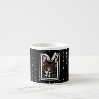 Easter - Some Bunny Loves You - French Bulldog Espresso Cup