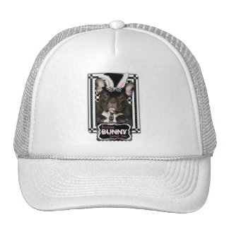 Easter - Some Bunny Loves You - French Bulldog Trucker Hat