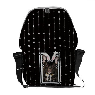 Easter - Some Bunny Loves You - French Bulldog Commuter Bag