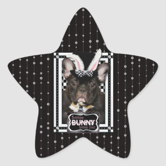 Easter - Some Bunny Loves You - French Bulldog Sticker