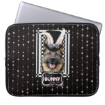 Easter - Some Bunny Loves You - German Shepherd Computer Sleeves
