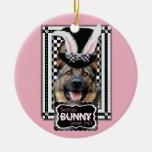 Easter - Some Bunny Loves You - German Shepherd Ornament