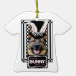 Easter - Some Bunny Loves You - German Shepherd Ornaments
