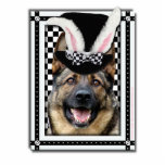 Easter - Some Bunny Loves You - German Shepherd Photo Cut Outs