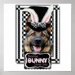 Easter - Some Bunny Loves You - German Shepherd Print