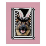 Easter - Some Bunny Loves You - German Shepherd Poster