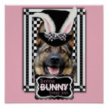Easter - Some Bunny Loves You - German Shepherd Posters