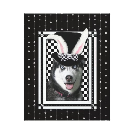 Easter - Some Bunny Loves You - Husky Gallery Wrap Canvas