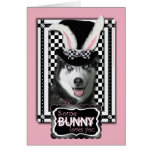 Easter - Some Bunny Loves You - Husky Greeting Card