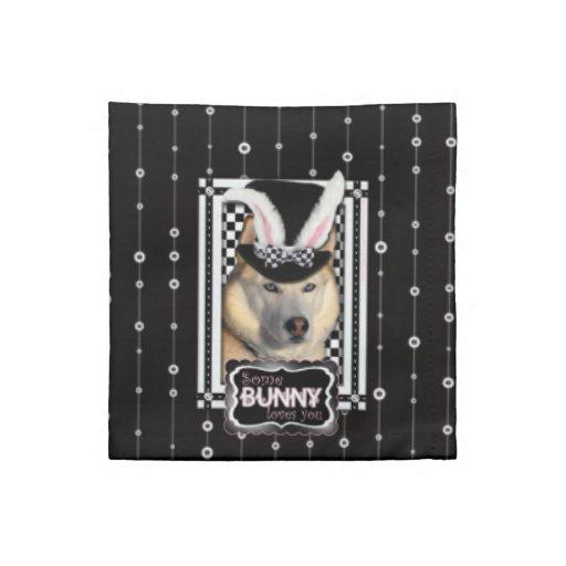 Easter - Some Bunny Loves You - Husky Napkins