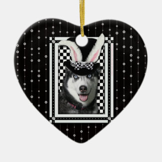 Easter - Some Bunny Loves You - Husky Ornament