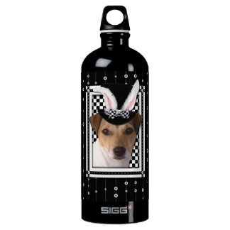 Easter - Some Bunny Loves You - Jack Russell Aluminum Water Bottle