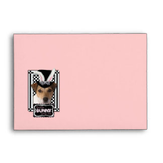 Easter - Some Bunny Loves You - Jack Russell Envelope