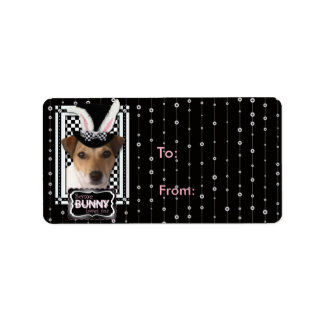 Easter - Some Bunny Loves You - Jack Russell Address Label
