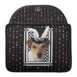 Easter - Some Bunny Loves You - Jack Russell MacBook Pro Sleeves