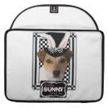 Easter - Some Bunny Loves You - Jack Russell Sleeves For MacBooks