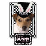 Easter - Some Bunny Loves You - Jack Russell Cut Out
