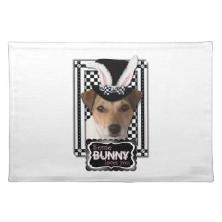 Easter - Some Bunny Loves You - Jack Russell Placemat