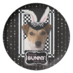 Easter - Some Bunny Loves You - Jack Russell Plate