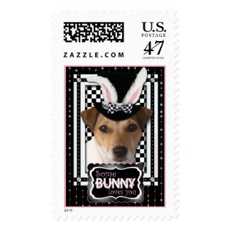 Easter - Some Bunny Loves You - Jack Russell Postage