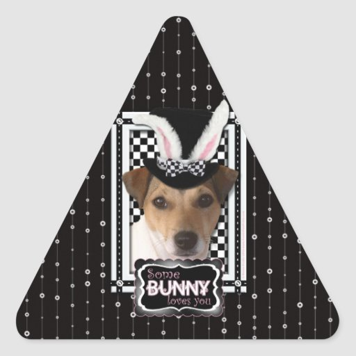 Easter - Some Bunny Loves You - Jack Russell Sticker