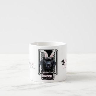 Easter - Some Bunny Loves You - Labrador - Black Espresso Cup