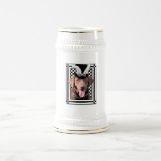 Easter - Some Bunny Loves You - Labrador - Chocola Beer Stein