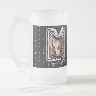 Easter - Some Bunny Loves You - Labrador - Chocola Frosted Glass Beer Mug