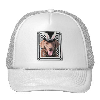 Easter - Some Bunny Loves You - Labrador - Chocola Trucker Hat