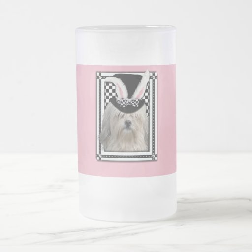 Easter - Some Bunny Loves You - Lowchen Coffee Mug