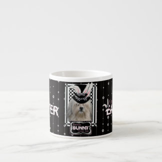 Easter - Some Bunny Loves You - Lowchen Espresso Cup