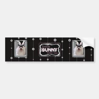 Easter - Some Bunny Loves You - Maltese Bumper Sticker