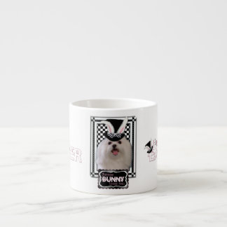 Easter - Some Bunny Loves You - Maltese Espresso Cup