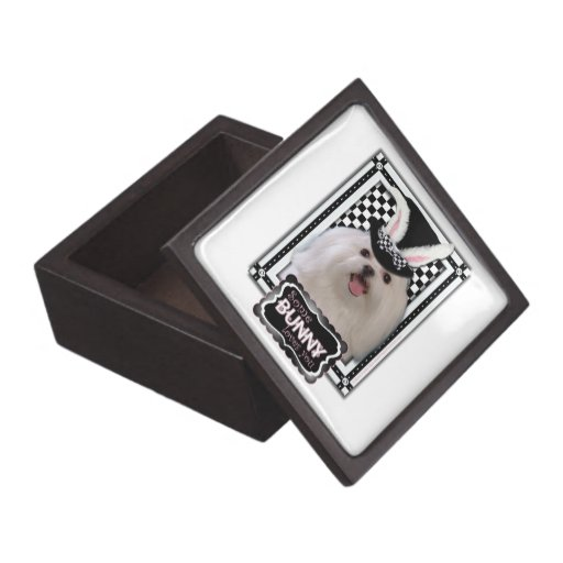 Easter - Some Bunny Loves You - Maltese Premium Jewelry Boxes