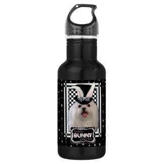 Easter - Some Bunny Loves You - Maltese Stainless Steel Water Bottle